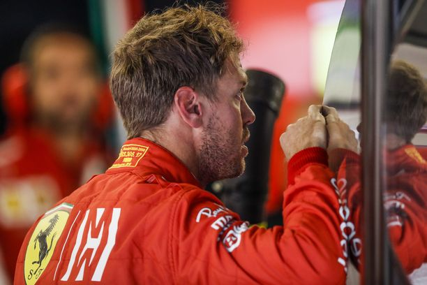 Sebastian Vettelin perjantaista tuli synkkä.