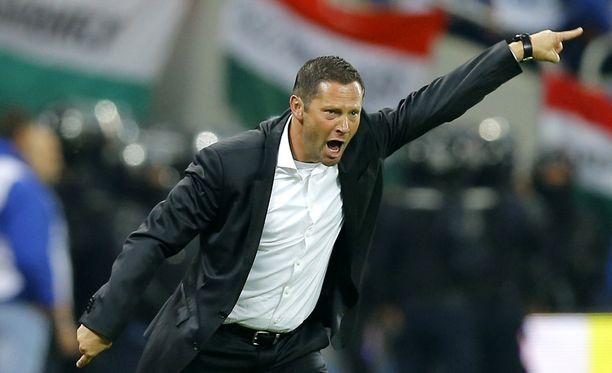 Pal Dardai valmentaa Unkarin maajoukkuetta.