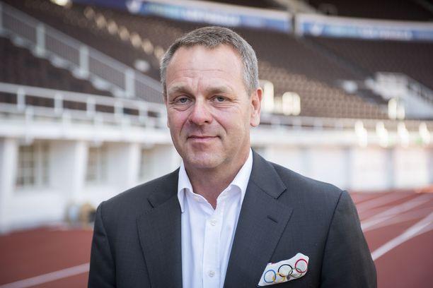 Jan Vapaavuori valittiin loppuvuodesta 2020 Olympiakomitean puheenjohtajaksi.