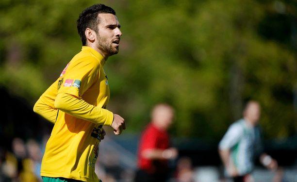 Tomi Petrescu teki Ilveksen voittomaalin FC Lahden verkkoon liigacupissa.