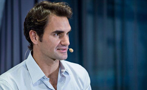 Roger Federer on myös kova jääkiekkomies.