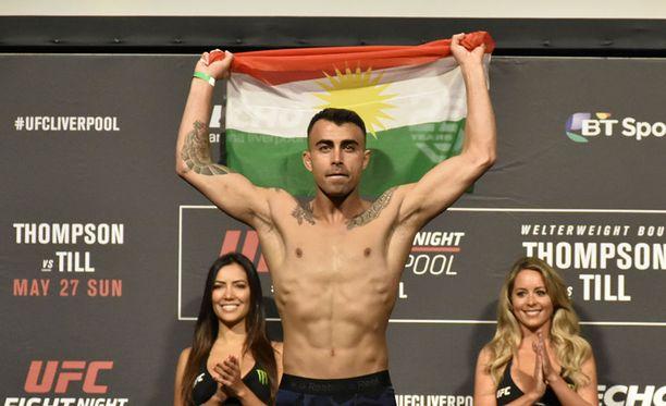 Makwan Amirkhani hakee tänään arvokasta voittoa UFC-kehästä. Edellisessä ottelussaan hän kärsi hajaäänin pistetappion Arnold Allenille.