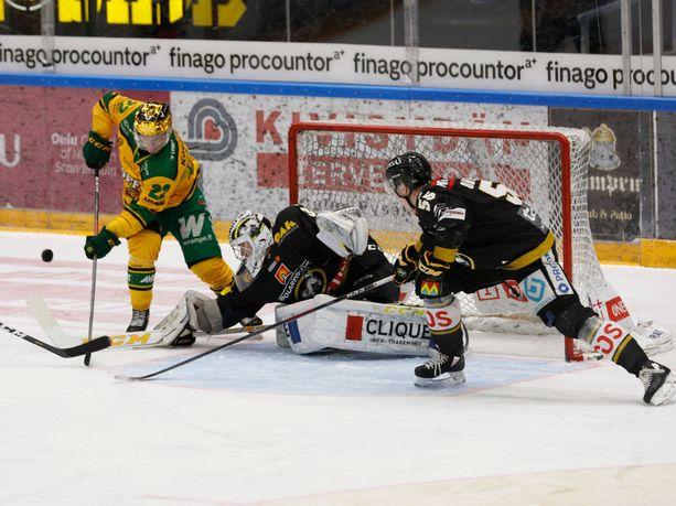 Kärpät ja Ilves iskevät tänään yhteen Oulun Raksilassa.