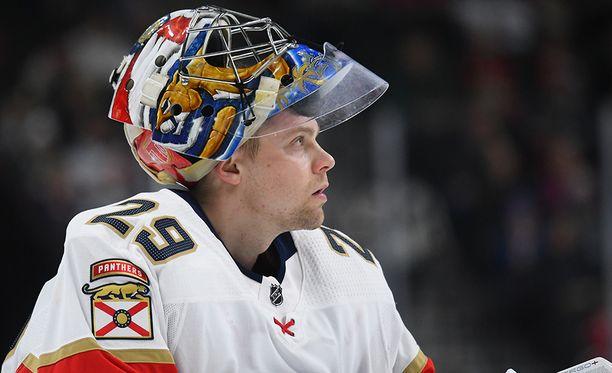 Harri Säteri pelasi tällä kaudella NHL:ssä yhdeksän ottelua. AHL:ssä pelejä kertyi 26.