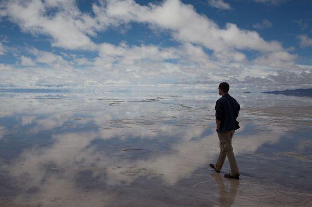 Boliviassa sijaitseva Salar de Uyuni on maailman suurin suolatasanko.