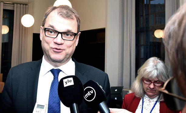 Juha Sipilä kertoi huomanneensa, että keskustalaisten itsetunto on viime aikoina palautunut.