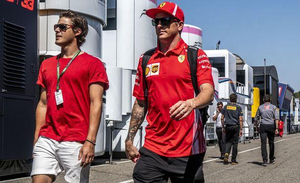 Kimi Räikkönen hakee yhä uransa ensimmäistä Saksan GP:n voittoa.