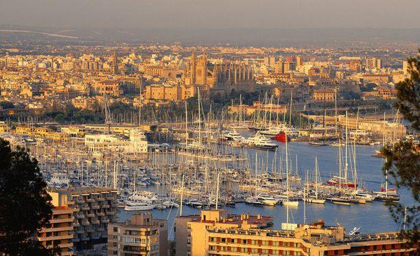 Mallorcalla on mukavan lämmintä jo keväällä.