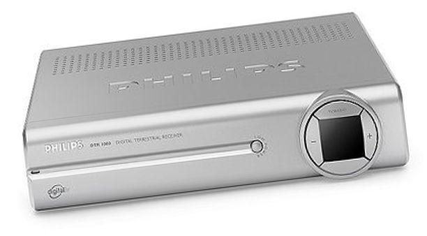 Myös Philipsin DTR 1000 -boksi oli mukana testissä. Katso listasta miten kävi.