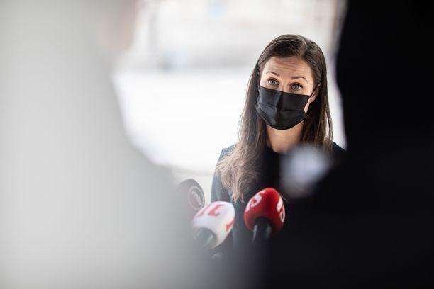 Pääministeri Sanna Marin (sd) tviittasi Norjan hyökkäyksestä torstaiaamuna.