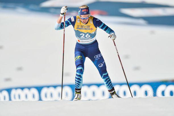 Anne Kyllönen on kärsinyt ylirasituksesta tällä kaudella.