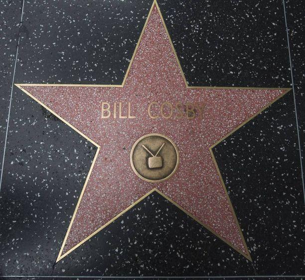 Cosbyn tähti Hollywoodin Walk of Famella on tuhrittu jo monta kertaa.
