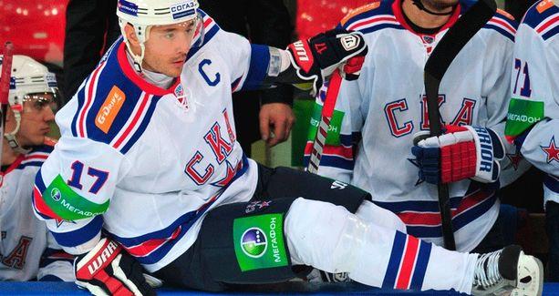 New Jersey Devilsin sopimuspelaaja Ilja Kovaltshuk on loistanut Pietarin SKA:n paidassa.