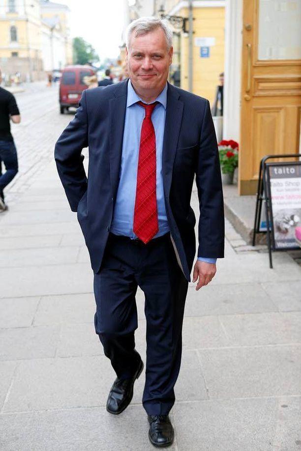 Antti Rinteelle tulee kiire SDP:n kannatuksen kääntämisessä nousuun.