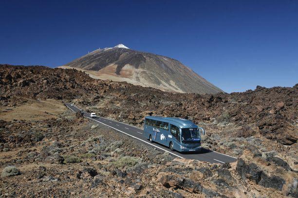 Teiden kansallispuisto on yksi maailman suosituimmista. Siellä käy vuosittain kolmisen miljoonaa vierasta.