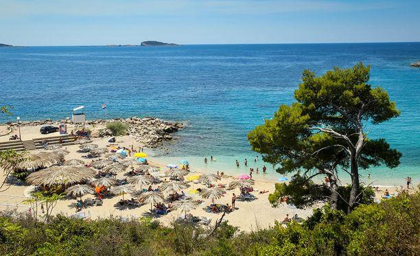 Kroatia on matkailijoiden rakastama lomakohde.
