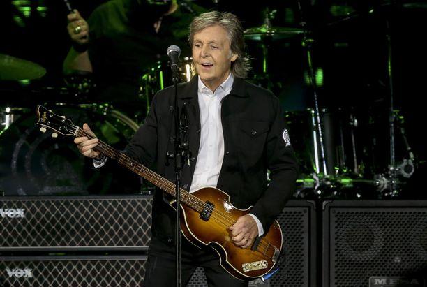 Paul McCartney on säveltänyt useita Beatlesin hittejä.