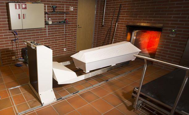 Joensuulaisessa krematoriossa sattui tekninen vika. Kuva ei liity tapaukseen.
