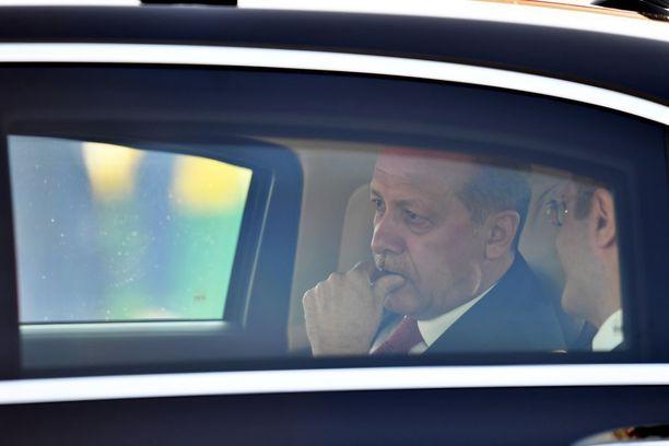 Turkin presidentti Recep Tayyip Erdogan saapui heinäkuun alussa Hampurin G20-huippukokoukseen kireissä tunnelmissa.