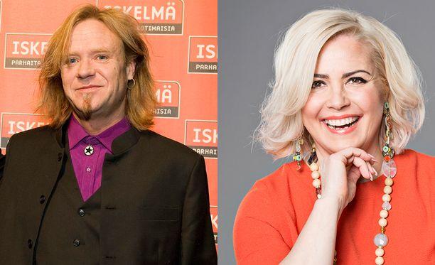 Jussi Hakulinen ja Kaisa Liski saapuvat tänään Sensuroimaton Päivärinta -studioon.