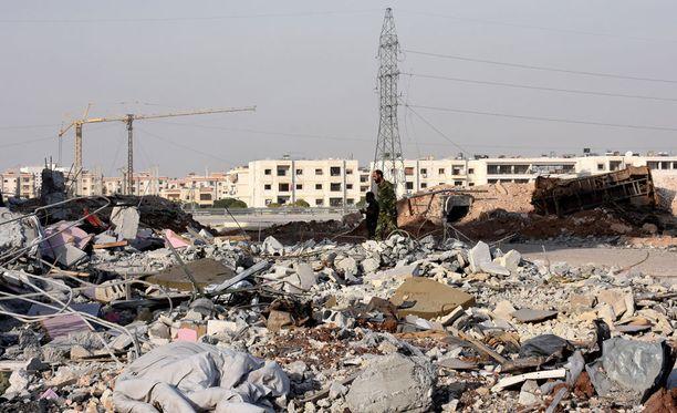 Lokakuussa Venäjä julisti Aleppoon kolme vuorokauden tulitauon ja viime viikolla oli kymmenen tunnin tauko taisteluista.