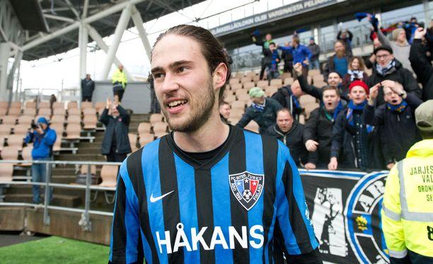 Vahid Hambo oli Inter-kannattajien keskuudessa suosittu pelimies, ja sama näkyy jatkuvan myös Brighton-kannattajien kohdalla.