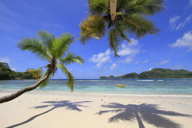 Seychellien hiekkarannat ovat vaarassa kadota.