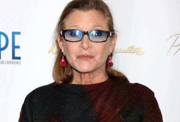 Carrie Fisher kärsi pitkään huumeriippuvuudesta.