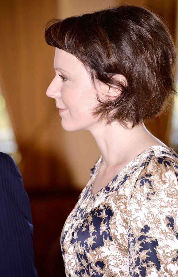 Jenni Haukion luottoasu edusti ulkomailla samassa