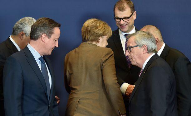 EU-maiden johtajat ovat pääseet sopuun Britannian EU-vaatimuksista.