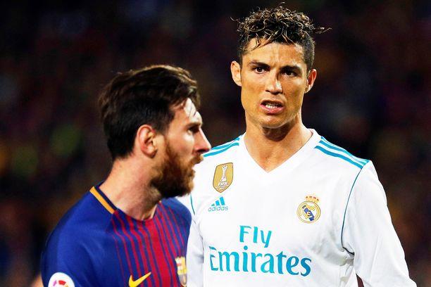 Lionel Messi ja Cristiano Ronaldo tapaavat jälleen.