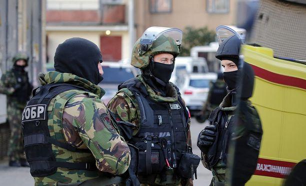FSB:n mukaan Pietarin iskussa ei loukkaantunut siviilejä tai viranomaisia.