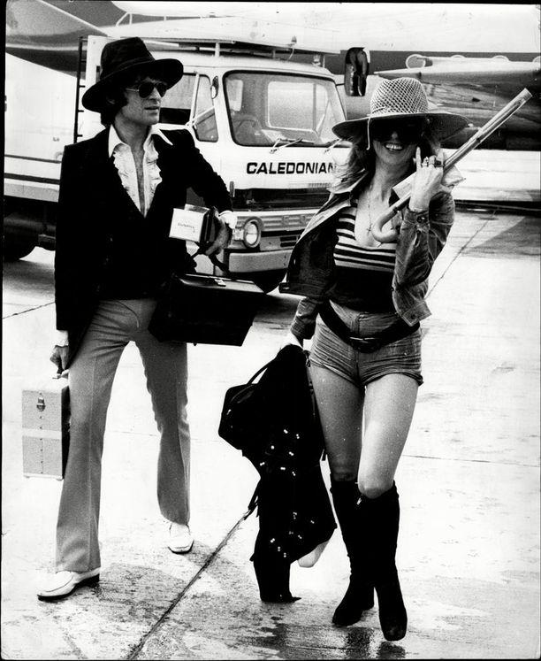 1970-luvun tyyliä.