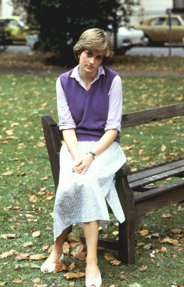 20-vuotias Diana oli ujo kaunotar.