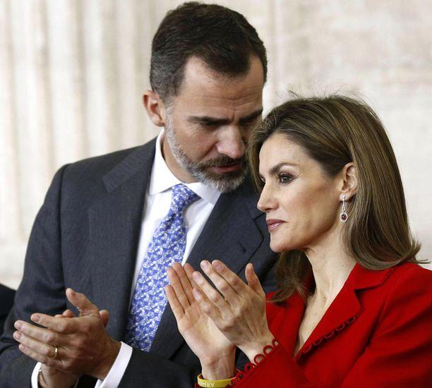 Felipestä tuli viime kesänä Espanjan kuningas.