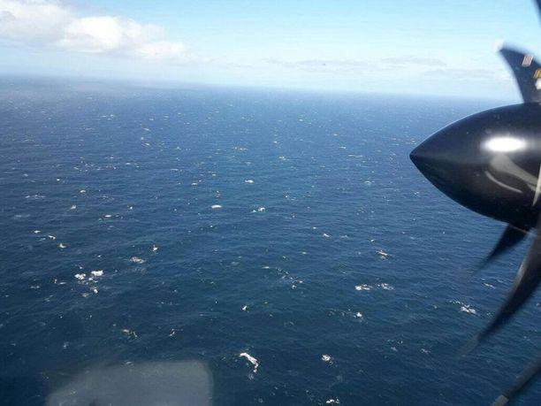Argentiinan ilmavoimat on myös mukana etsinnöissä.