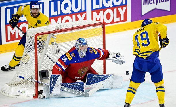 Andrei Vasilevski oli rautaa Venäjän maalilla.