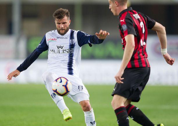 Perparim Hetemaj edusti viime kaudella Chievoa.