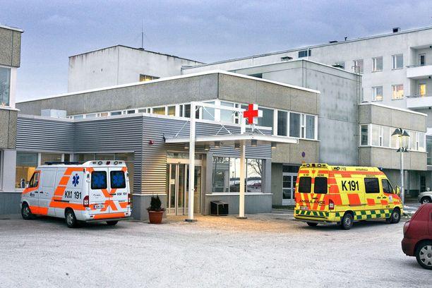 Länsi-Pohjan keskussairaala sijaitsee Kemissä. Kuvituskuva.