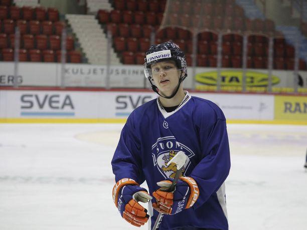 Patrik Puistola uskoo olevansa pelikuntoinen alle 20-vuotiaiden MM-turnauksessa.