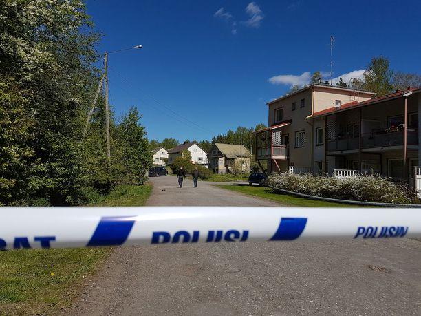 Mäntyharjun uhri ammuttiin muutaman sadan metrin päässä kotoaan.