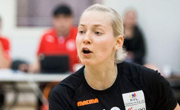 Eveliina Koljonen siirtyi Belgian liigaan.