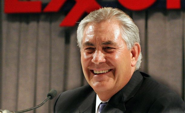 AFP:n mukaan Rex Tillerson on Yhdysvaltojen uusi ulkoministeri.