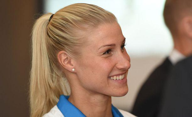 Hanna-Maria Seppälä oli ensimmäisen kerran olympialaisissa jo vuonna 2000.