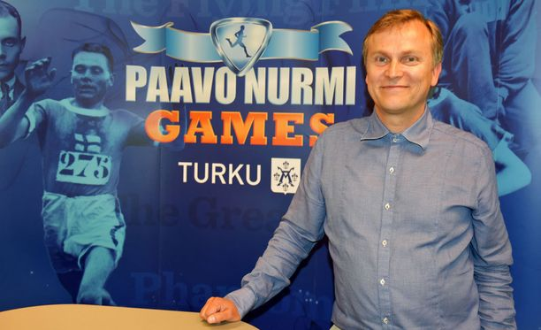Jari Salonen toimii Paavo Nurmi Gamesin toimitusjohtajana.
