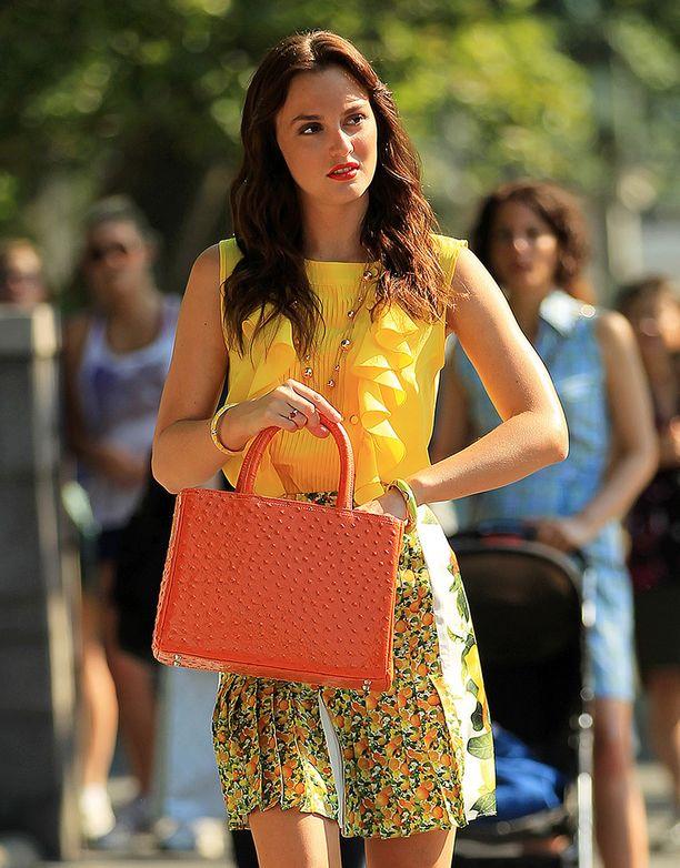 Leighton muistetaan vuonna 2012 päättyneestä Gossip Girl -sarjasta.