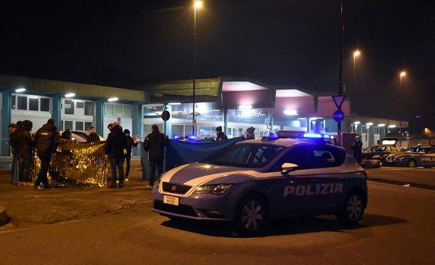 Berliinin terrori-iskusta epäilty mies sai surmansa Milanossa tulitaistelussa poliisia vastaan.