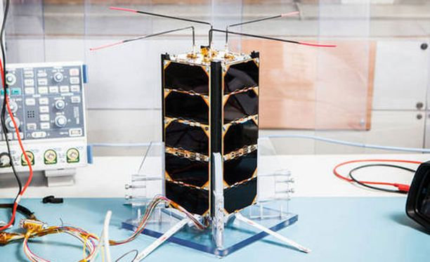 Tätä parin kilon satelliittia ei pian enää ole.