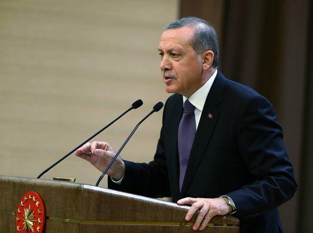 Turkin presidentti Recep Tayyip Erdogan on pyrkinyt maksimoimaan valtansa.