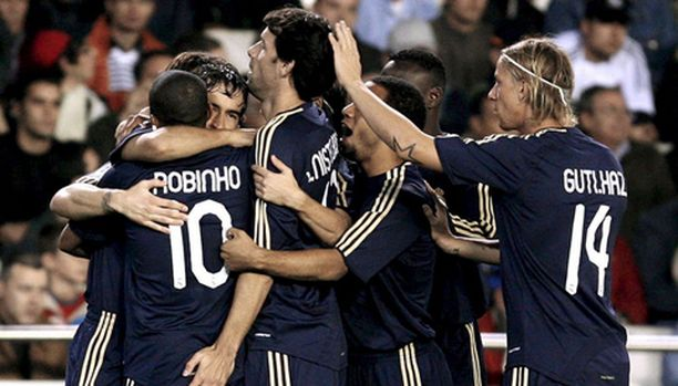 Real Madridin pelaajilla oli maalijyvä kohdillaan.